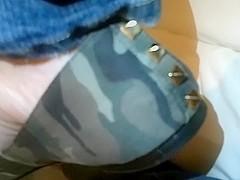 Camo flats no nylons
