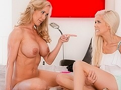 Brandi Love & Halle Von in Caught Skipping Video