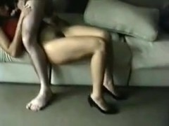 Wench wife screwed by ally til cum in her throat