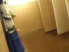 Hidden cameras in public pool showers 493