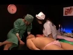 Japanese hospital femdom