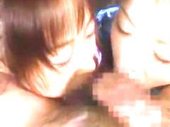 Fabulous Japanese model in Incredible Cumshots, Threesomes JAV clip
