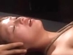 Slutty broad enjoys Japanese torture with sex toys