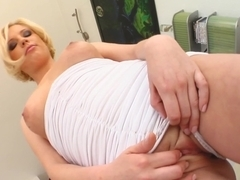 Nora gets a load of sperm inside her on All Internal