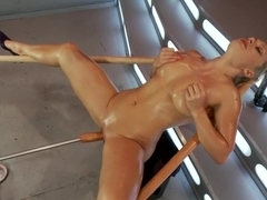 Incredible fetish porn movie with amazing pornstar Lea Lexis from Fuckingmachines
