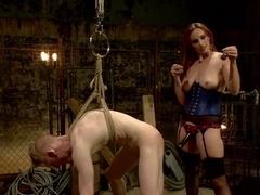 Rough Femdom Bondage Sex!