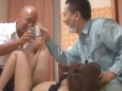Exotic Japanese girl Nao Yoshizaki, Takako Kitahara in Incredible Compilation, Threesomes JAV scene