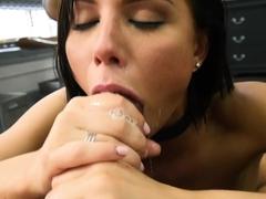Amazing pornstar Aidra Fox in Hottest Blowjob, Small Tits xxx movie