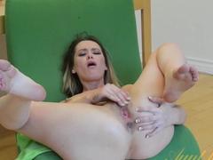 Best pornstar Rebecca Blue in Exotic Masturbation, Small Tits adult video