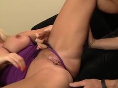 Amazing pornstar Karen Fisher in fabulous big cocks, cunnilingus porn movie