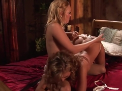 Amazing pornstars Liv Wylder and Lexi Love in exotic squirting, lesbian porn clip