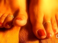 Darla TV - Foot Fetish Diva, Sizzling Summer Ebony Toes and Soles