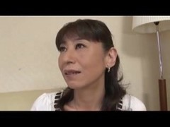 JApanese mom wants a little loving to get her pussy all wet