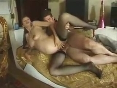 Hairy pregnant amateur fucked in the ass