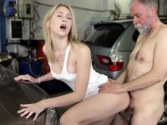 Frances takes advantage of OldGoesYoung guy to land plum job - OldGoesYoung