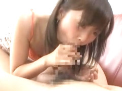 Exotic Japanese chick Junko Hayama in Hottest Cunnilingus, Blowjob/Fera JAV movie