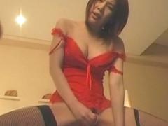 Crazy Japanese girl Ryo Hanasaki in Fabulous Big Tits, Dildos/Toys JAV video