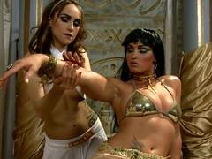 The mighty Cleopatra with Kathia Nobili,  Leyla Black