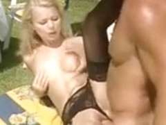 Hot Outdoor Anal for Dora