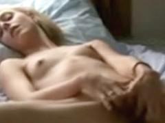 Great bedroom masturbation