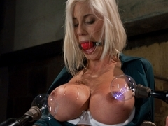 Amazing blonde, fetish xxx movie with hottest pornstars Princess Donna Dolore, Puma Swede and Isis.