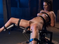 Amazing fetish adult movie with hottest pornstar Bobbi Starr from Fuckingmachines