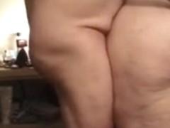 Shy BBW sucks and fucks