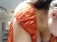 Downblouse Voyeur Porn