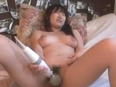 Exotic Japanese chick Sayaka Kazuki in Incredible Big Tits, Masturbation/Onanii JAV video