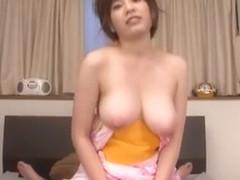 Hottest Japanese slut Saki Okuda in Fabulous Wife, Handjobs JAV video