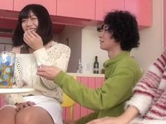 Best Japanese whore Saki Kanasaki, Mei Akizuki, Ririka Suzuki, Amateur in Hottest kitchen, group s.