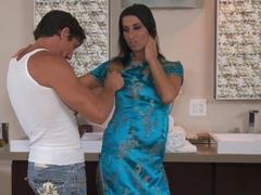 Horny pornstars Tommy Gunn, Sophia Bella in Best HD, Massage xxx clip