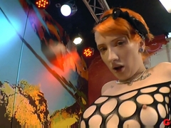 Exotic pornstar Emma Starr in Crazy Bukkake, German sex movie