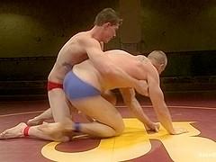 NakedKombat Will The Punisher Parks vs Blake The Behemoth Daniels Two Goliaths Fight to Fuck