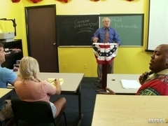Big Tits at School: Fucking To America