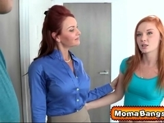 Janet Mason and her threesome sex education lesson