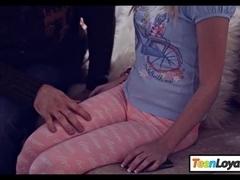 Super petite teen Piper Perri screwed up real hard and deep