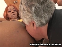 EliteSmothering Video: Hairy ebony pussy demands worship