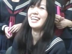 Horny Japanese girl in Exotic Outdoor JAV video