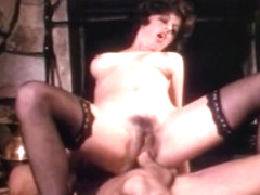 Incredible asian retro scene with Hershel Savage and Bridgette Monet