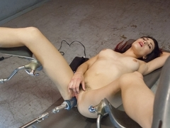 Hottest fetish adult video with exotic pornstar Raven Rocket from Fuckingmachines