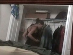 Hidden camera wardrobe