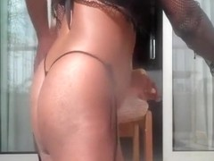 My fat ass ebony queen likes being dominated during sex