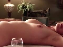 Girl masturbating -Elsa H-