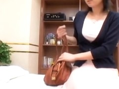 Tender Jap broad nailed well in spy cam erotic massage clip