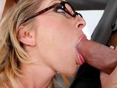 Jaelyn Fox & Billy Glide in Naughty Book Worms