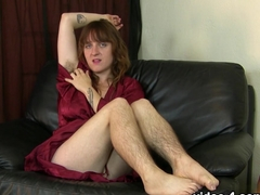 Fabulous pornstar in Best Redhead, Hairy porn scene