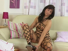 Hottest pornstars Lelani Tizzie, The Body XXX in Exotic Stockings, Masturbation xxx video