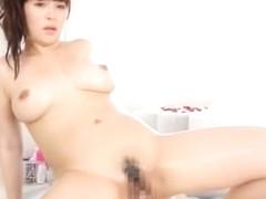 Crazy Japanese girl Megu Fujiura in Fabulous Lingerie, POV JAV clip
