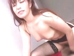 Crazy Japanese slut Naomi Hirose in Exotic Cougar, Rimming JAV clip